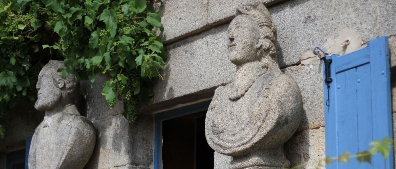 Sculptures Maison de Francois Michaud a Masgot